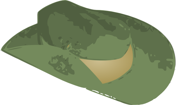 Slouch Hat Clip Art at Clker.com.