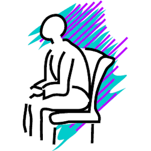 Slouching 2 clipart, cliparts of Slouching 2 free download (wmf.