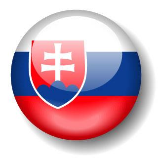 Slovak flag clipart.