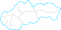 Slovakia Map Clipart.
