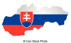 Slovakian flag Vector Clipart Illustrations. 97 Slovakian flag.