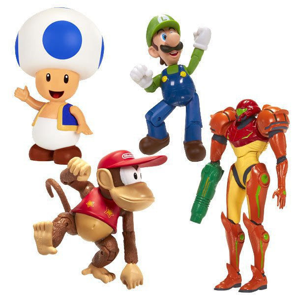 Jakks Pacific Have A Ton Of Official Nintendo Toys Coming Out.