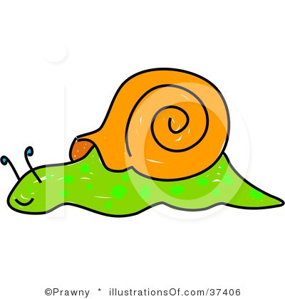 Running Slow Clipart.