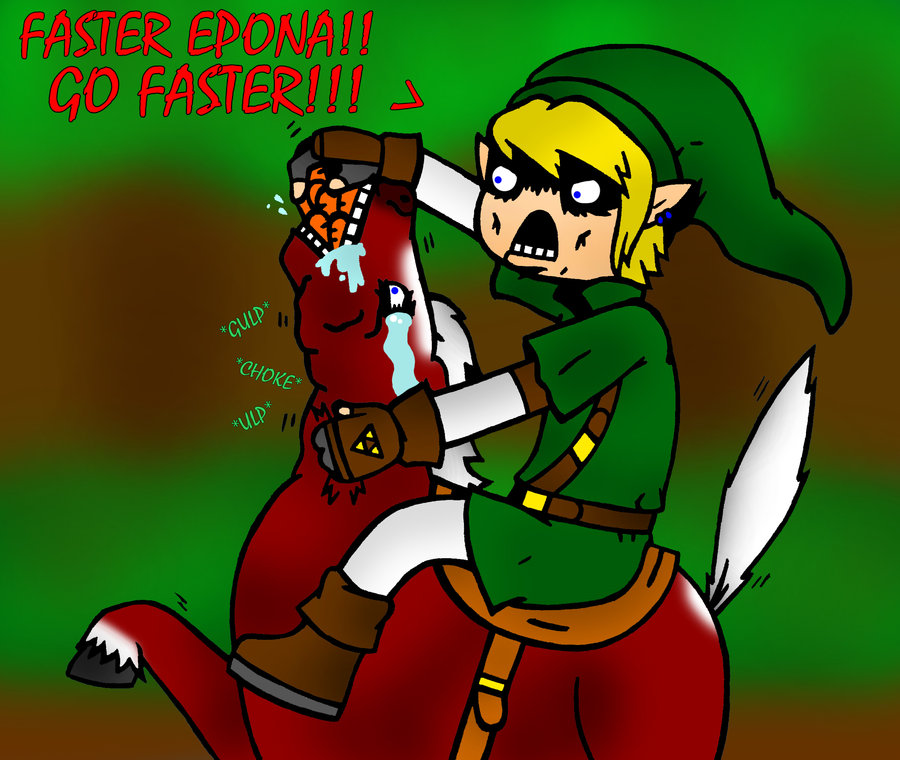 Links Remedy to a Slow Horse by Onslaught14 on DeviantArt.
