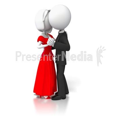 Couple Slow Dancing.