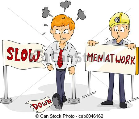 Slow down Clipart and Stock Illustrations. 882 Slow down vector.