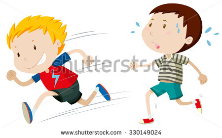 Slow Runner Clipart.