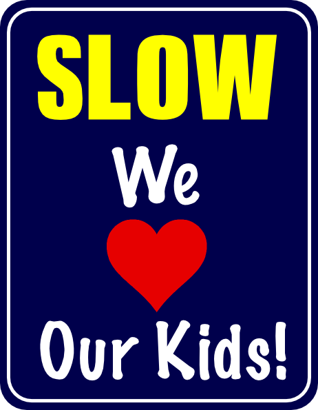 Slow Down Speed Sign Clip Art at Clker.com.