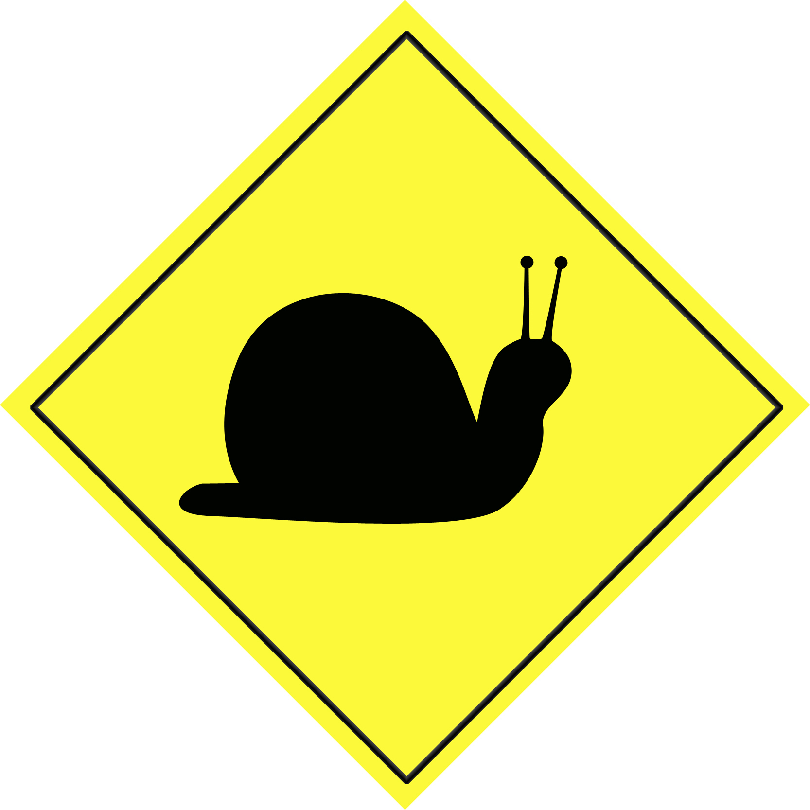 Slow Down Clipart.
