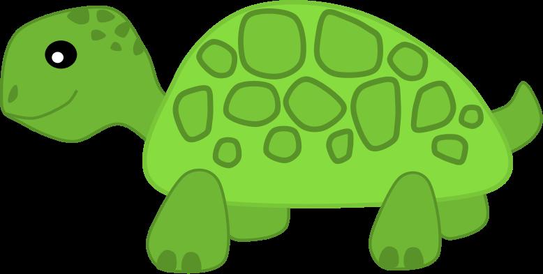 Slow Turtle Clipart.
