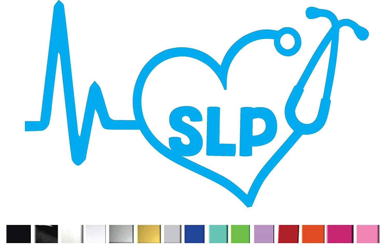 Amazon.com: (2) TWO Heartbeat SLP (Speech Language.