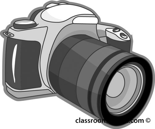 Slr camera clipart.