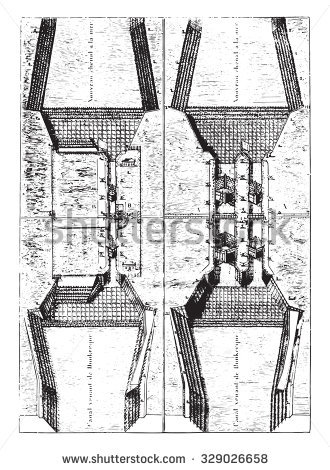 Sluice Stock Vectors & Vector Clip Art.