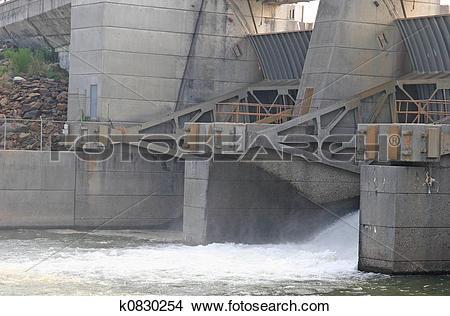 Stock Photo of Sluice Gate k0830254.