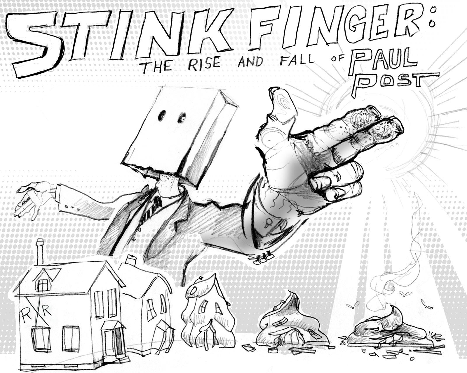 Showing post & media for Slumlord cartoon.