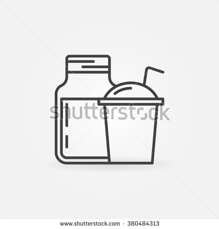 Smoothie Clip Art Black And White.
