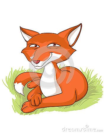 Sly Fox Stock Illustrations.