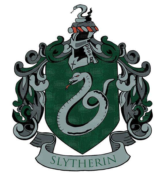 Harry Potter Slytherin House Crest Clipart by.
