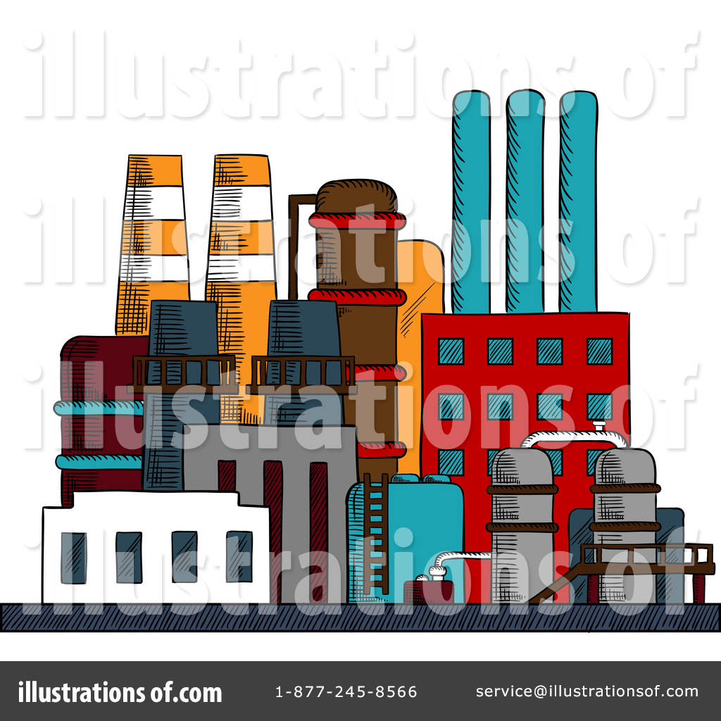 Factory Clipart #1380823.