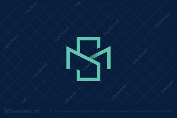Exclusive Logo 126918, Ms Or Sm Monogram Logo.
