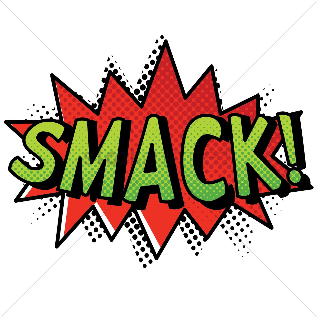 Free Smack Art Stock Vectors.