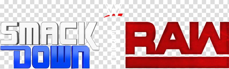 WWE SMACKDOWN VS RAW Custom logo transparent background PNG.
