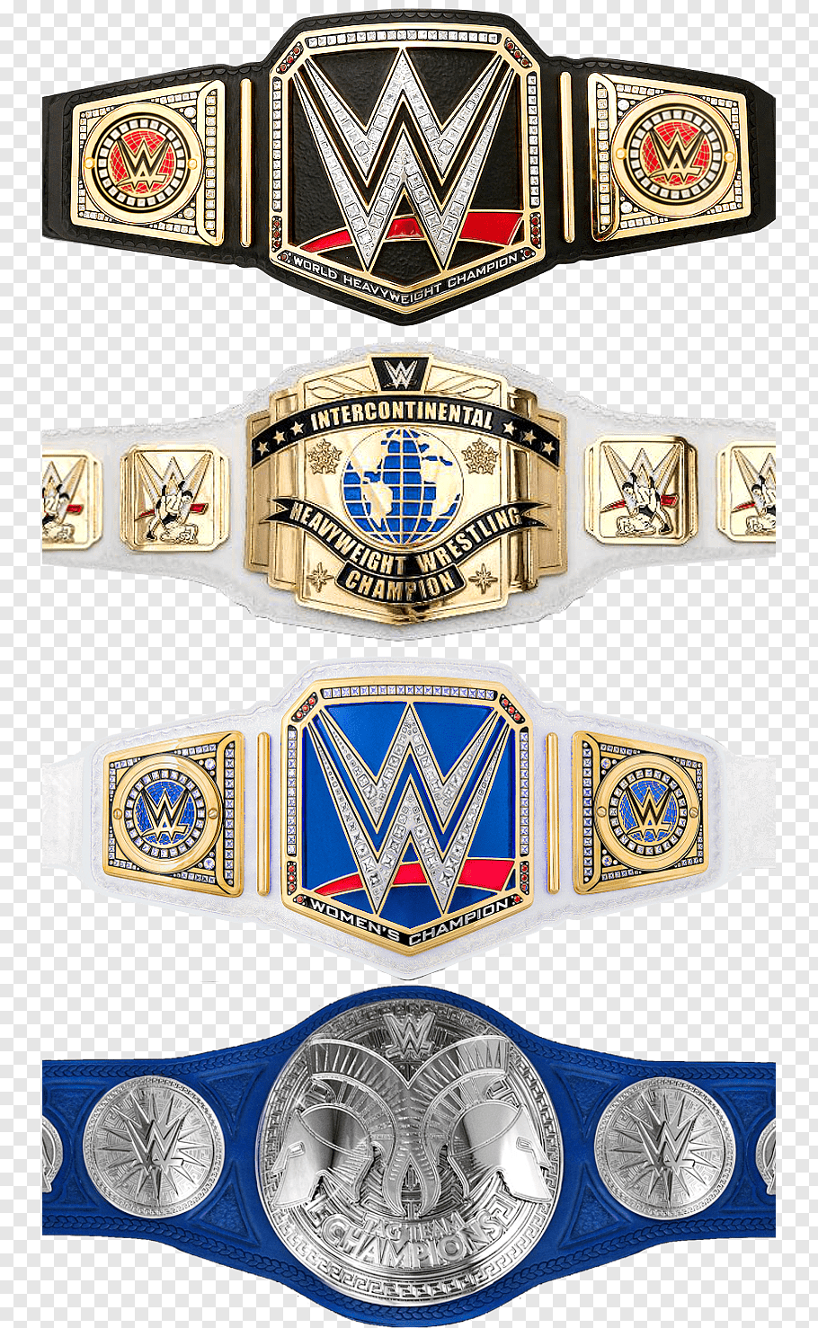 WWE SmackDown Tag Team Championship cutout PNG & clipart.