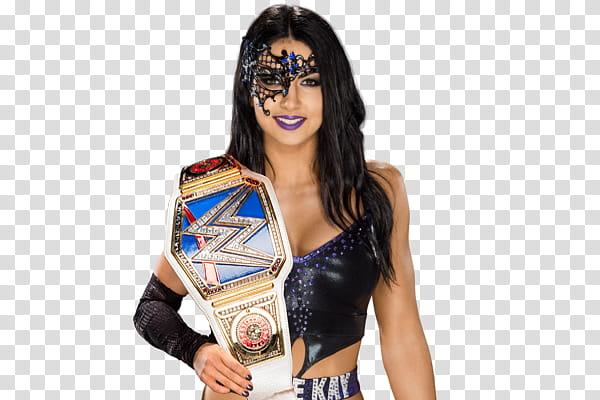 Billie Kay SmackDown Women Champion Render transparent.