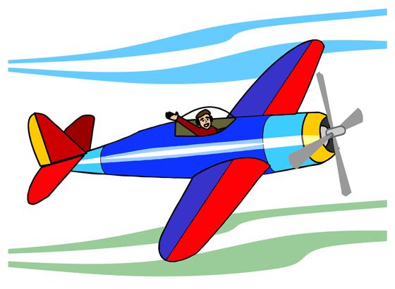 Microsoft Free Clip Art planes.