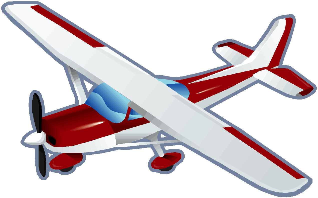 Flying clipart small airplane, Flying small airplane.