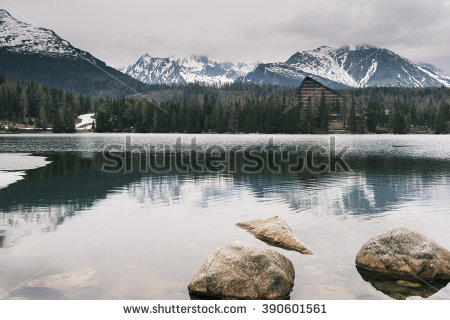 Alpine Mountain Stock Photos, Royalty.