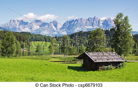 Stock Photos of Tirol landscape.