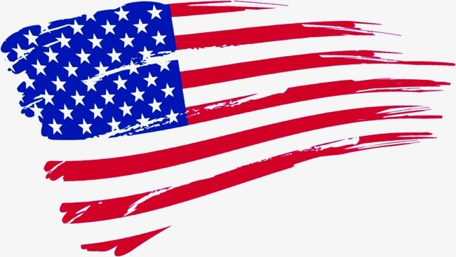 American Flag, Flag Clipart, Small Fresh, Banner PNG.