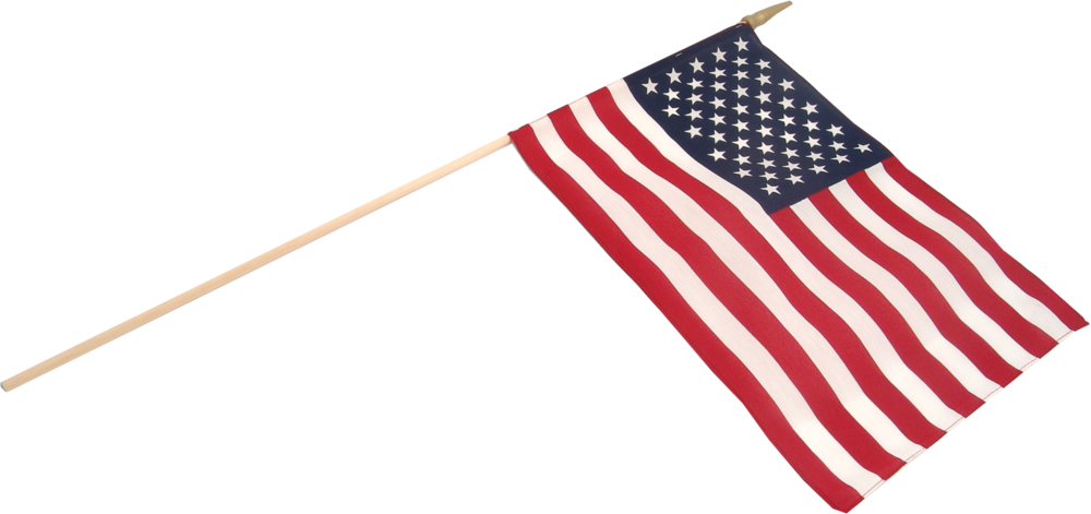 Small American Flag Transparent.