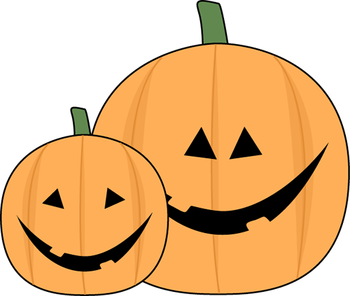 Halloween Jack O Lantern Clip Art Image A Large And Small.