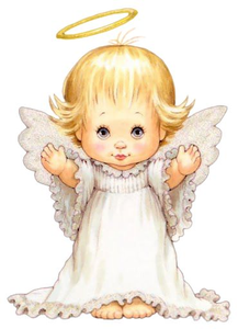 Little Angels Cliparts.
