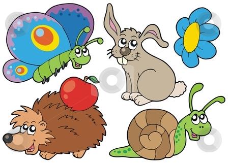 Small clipart animals.