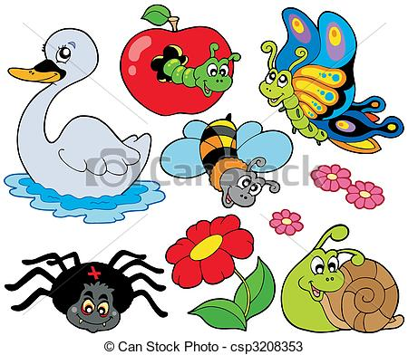Vectors of Small animals collection 9.