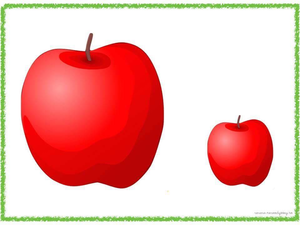 Small Apple Clipart.