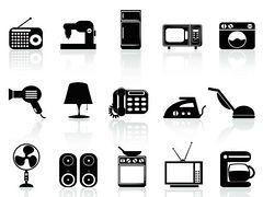 Home appliances clipart free.