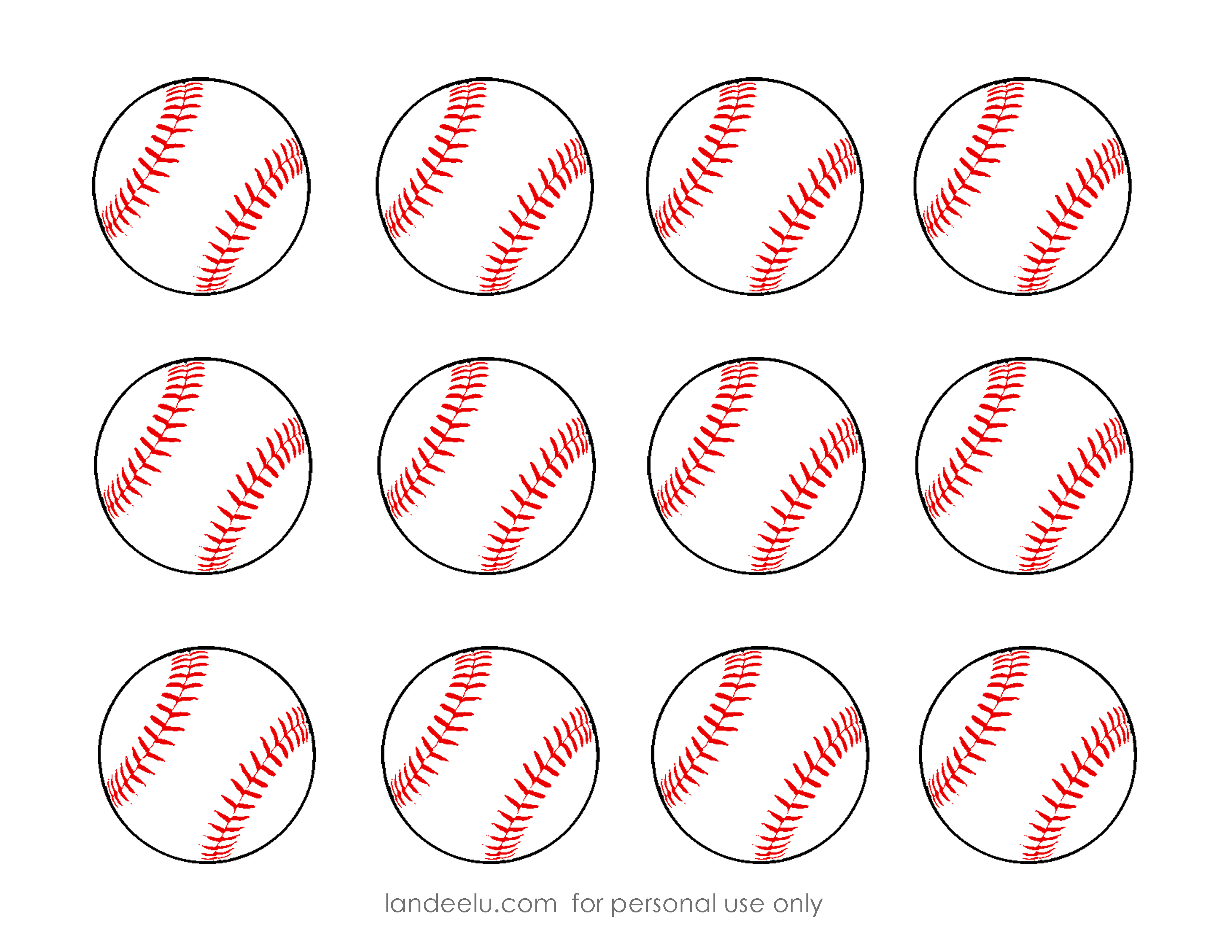 free printable baseball clip art images.
