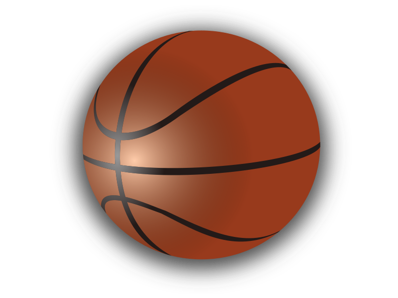 Small Basketball Clipart.