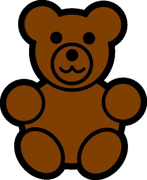 Bear Clip Art at Clker.com.