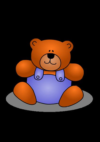 Teddy Bear SVG Vector file, vector clip art svg file.