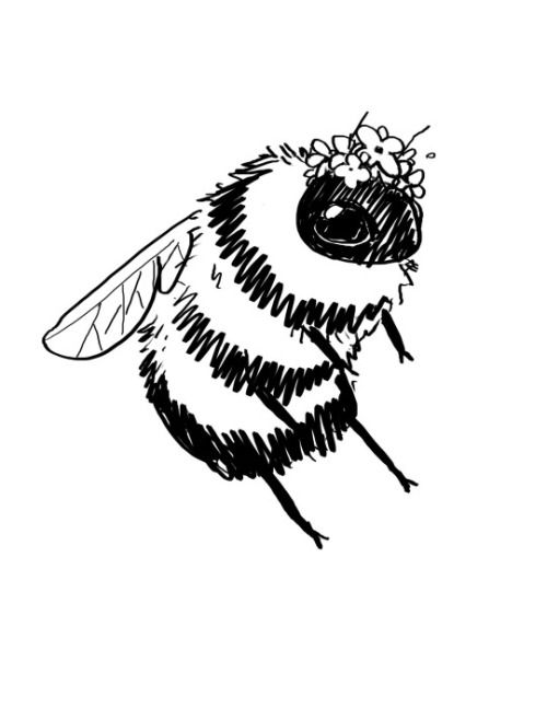 17 Best ideas about Bee Drawing on Pinterest.