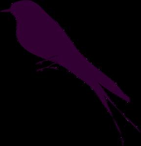 Small Bird Clip Art.
