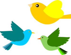 Birds Clip Art at Clker.com.
