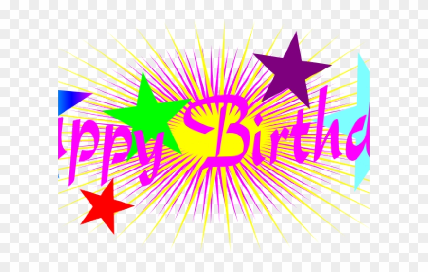 Small Clipart Happy Birthday.