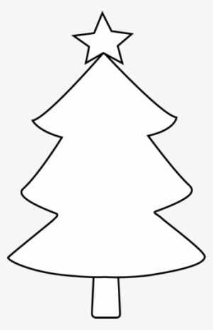 White Christmas Tree PNG Images.