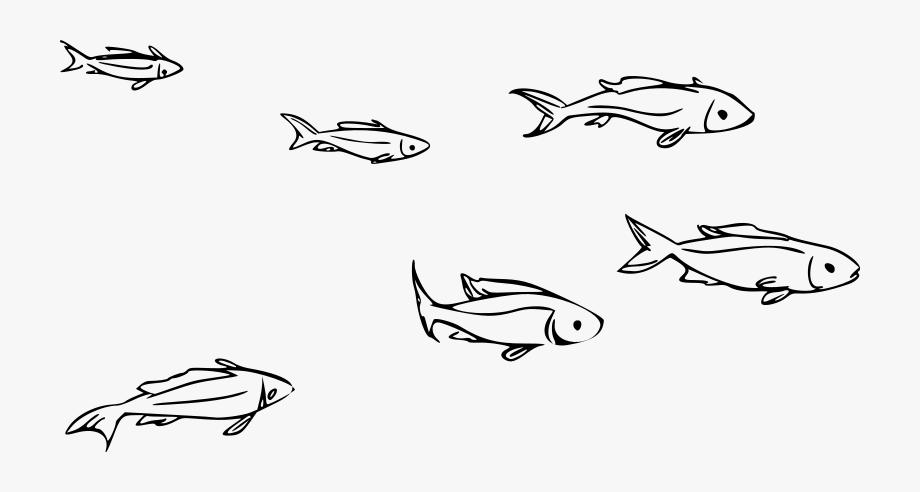 Clip Art Freeuse School Of Fish Clipart.